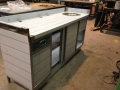 Neutral counter with drawer, doors and hand wash bowl 2