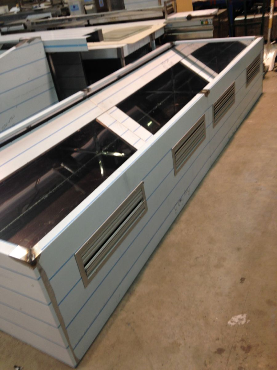 Canopy cw air intake system 1 & Stainless Steel Canopies - BKR Stainless Steel Catering Equipment ...