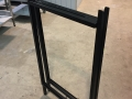 A frame for holding advert boards etc 1