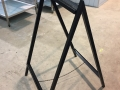 A frame for holding advert boards etc 2