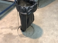 Stainless steel bin bag holder 1