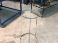 Stainless steel bin bag holder 2