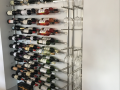 Wine bottle and wine glass holder c_w lights 3
