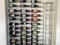 Wine bottle and wine glass holder c_w lights 5