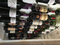 Wine bottle and wine glass holder c_w lights 7